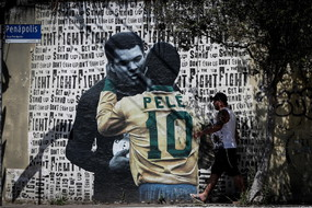 Football legend Pele turns 80 (ANSA)