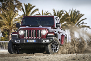 Jeep Gladiator, pronto per qualunque terreno anche in Europa (ANSA)