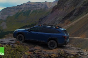 Subaru Outback Wilderness –Oltre il Far West (ANSA)