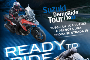 Suzuki, tutti in sella con il Demo Ride Tour 2021 (ANSA)