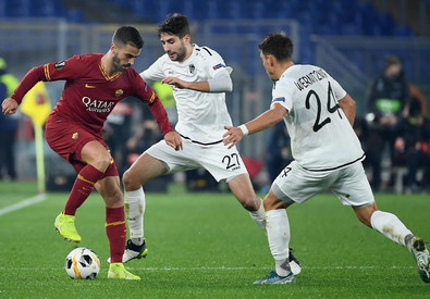 AS Roma vs Wolfsberger AC (ANSA)