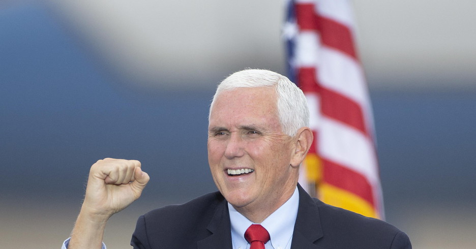 Il vicepresidente Mike Pence (ANSA)
